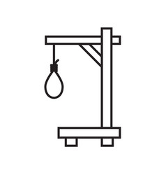rope with a loop vector image