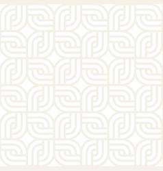 Seamless lattice pattern modern stylish texture vector