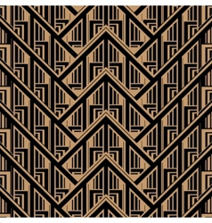 Getsby Style Pattern vector image