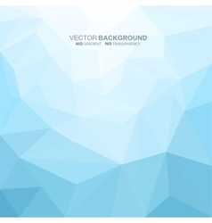 Abstract geometric background Blue concept vector image