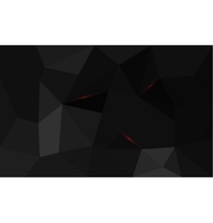 Black triangle structure abstract background vector image vector image