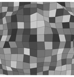 polygonal mosaic background vector image