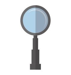 search technology tool color shadow vector image