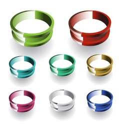 3d Ring vector image