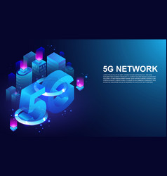 5g network wireless system 5th internet vector