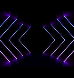 abstract background with blue and purple sight vector image