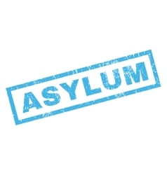 Asylum Rubber Stamp vector