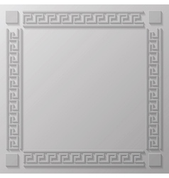 Greek frame vector
