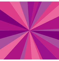 Purple red and pink rays background for your vector image