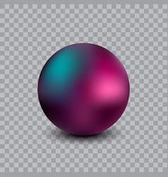 Realistic ball vector