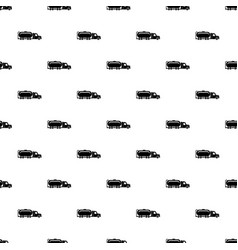 truck oil pattern seamless vector image