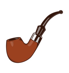 Smoke Pipe vector image vector image
