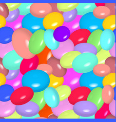 pattern with colorful candies vector image vector image