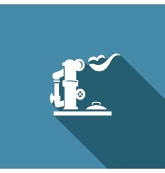 Gas storage icon vector image
