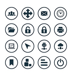 App icons universal set vector