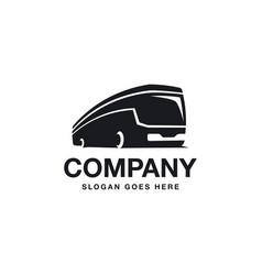 bus logo icon travel logo icon transportation vector image