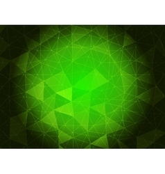 Emerald green background vector image