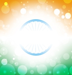 India background abstract Indian flag vector