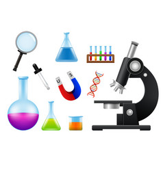 Laboratory tools and equipmentprint vector