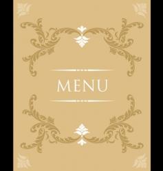 menu34 vector image