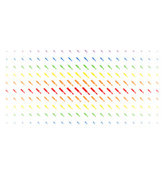 Screwdriver spectral halftone pattern vector