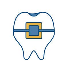 Tooth icon image vector