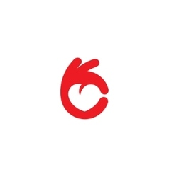 Healthy Heart icon vector image vector image