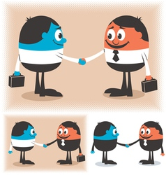 Deal vector image