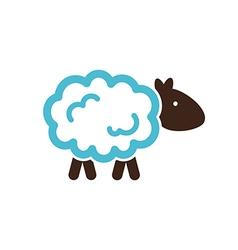 Sheep icon Farm animal vector image vector image