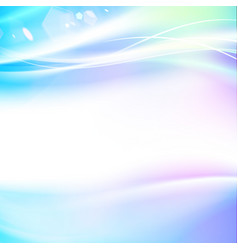 abstract smooth blue lines vector image