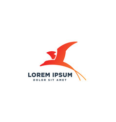 Birds dove pigeon logo template icon element vector