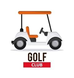 Cart icon Golf sport design graphic vector