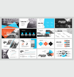 geometric graphic design project proposal vector image