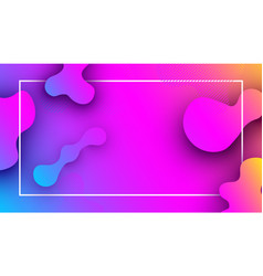 pink and lilac background with abstract pattern vector image