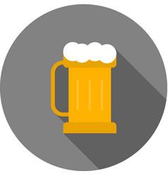 Pint of beer i vector