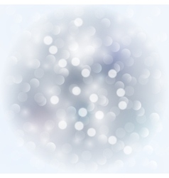 Silver light background vector image