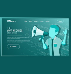 website page business website achieve the vector image