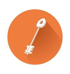 key symbol vector image