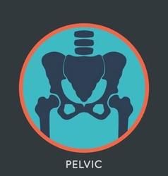 Pelvic Pain Logo vector image
