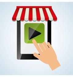 App design technology social media vector