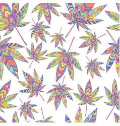 Bright summer psychedelic abstract hallucinogenic vector