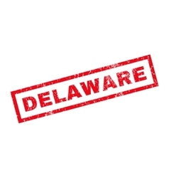 Delaware Rubber Stamp vector