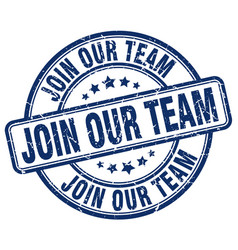 Join our team vector