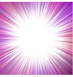 purple psychedelic abstract ray burst background vector image