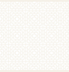 seamless subtle lines mosaic pattern modern vector image