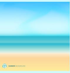 summer season landscape blurred background vector image