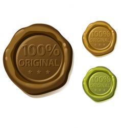 seal original vector image