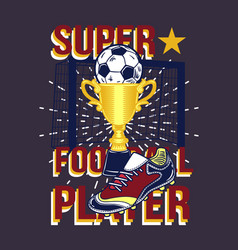 a ball in the cup boot vector image