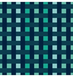 Abstract pattern with interwoven stripes vector