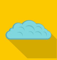 Autumn cloud icon flat style vector